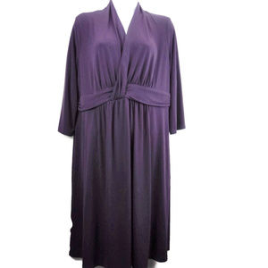 Motherhood Maternity Purple Knit Midi Dress
